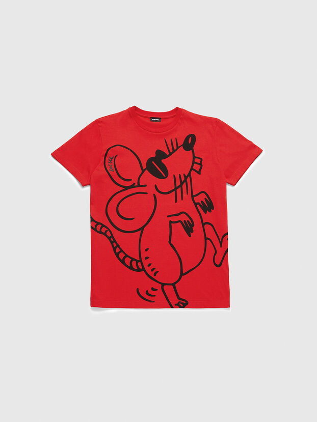 CL-T-DIEGO-2, Rojo - Camisetas