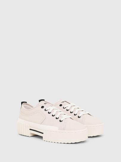 Diesel - S-MERLEY LOW, Blanco Brillante - Sneakers - Image 2