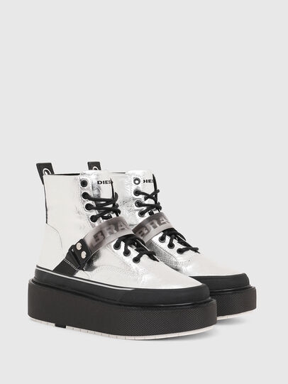 Diesel - H-SCIROCCO STRAP, Plata - Sneakers - Image 2