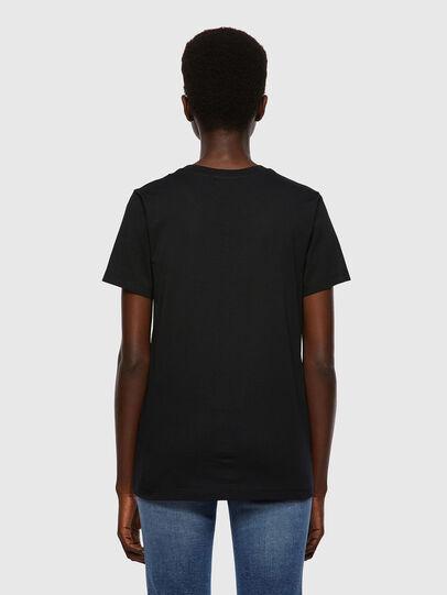 Diesel - T-SILY-B2, Negro - Camisetas - Image 2