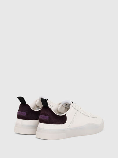 Diesel - S-CLEVER LOW LACE W, Blanco/Rosa - Sneakers - Image 3