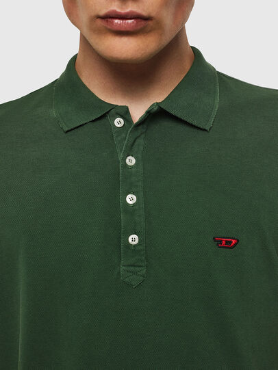 Diesel - T-NIGHT-NEW, Verde Oscuro - Polos - Image 3