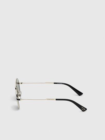 Diesel - DL0301, Negro/Dorado - Gafas de sol - Image 3