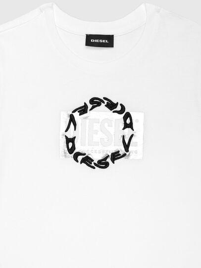 Diesel - TSILYRSUC ML, Blanco - Camisetas y Tops - Image 3