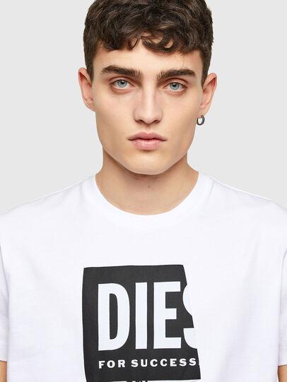 Diesel - T-DIEGOS-LAB, Blanco - Camisetas - Image 3