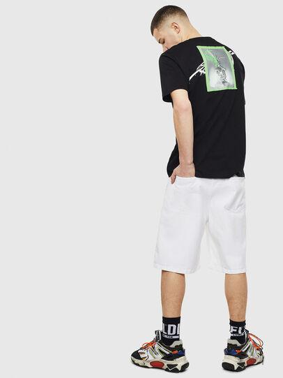Diesel - T-JUST-T11, Negro - Camisetas - Image 4