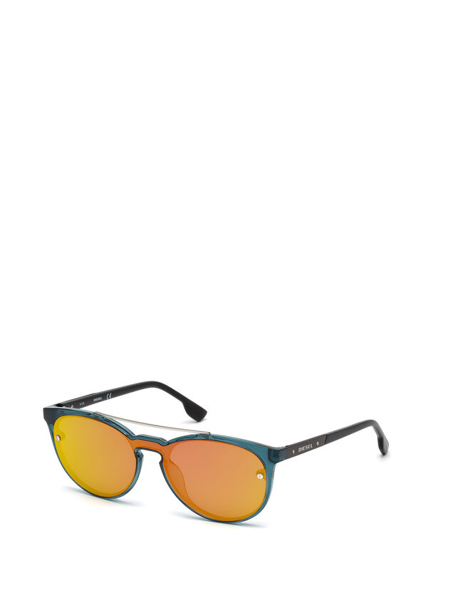 Diesel DL0216, Azul/Naranja - Gafas - Image 4