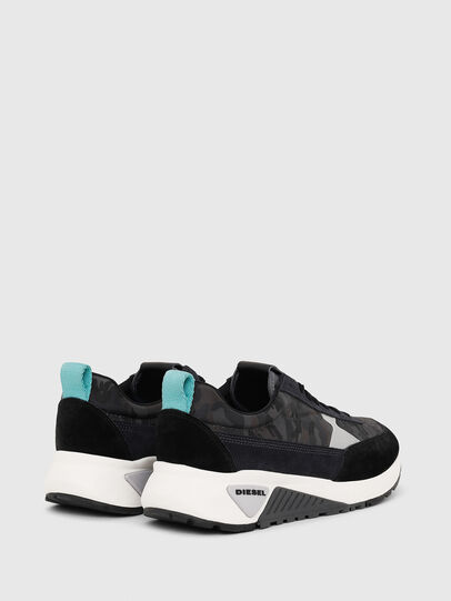 Diesel - S-KB LOW LACE II, Negro/Gris oscuro - Sneakers - Image 3