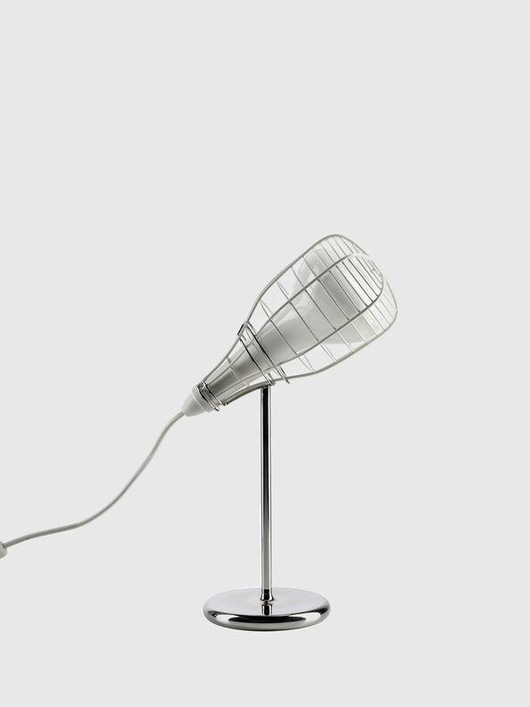 CAGE MIC BIANCO,  - Lámparas de Sombremesa