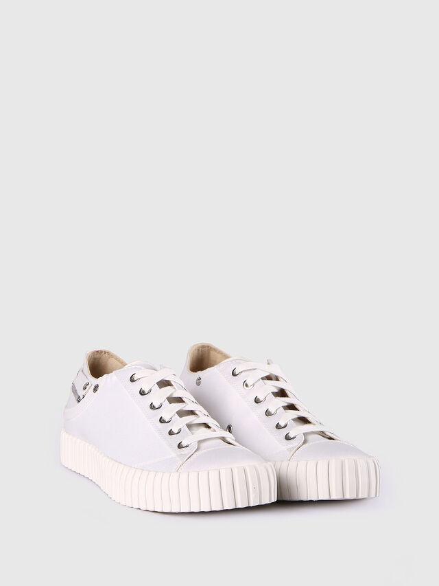 Diesel - S-EXPOSURE CLC W, Blanco - Sneakers - Image 3