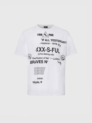 T-JUST-FOLDED, Blanco - Camisetas