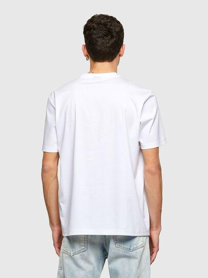 Diesel - T-JUST-E7, Blanco - Camisetas - Image 2
