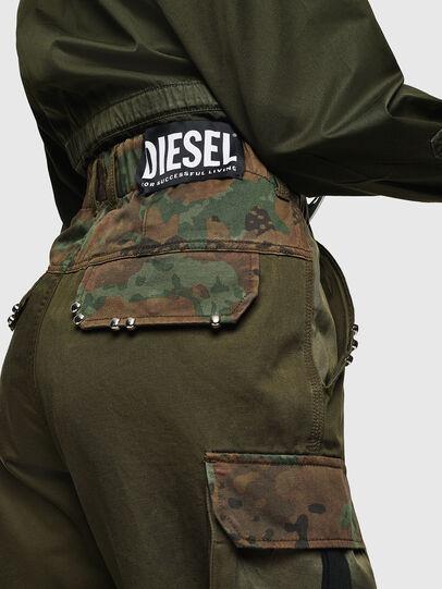 Diesel - P-THENA-A, Verde Camuflaje - Pantalones - Image 2