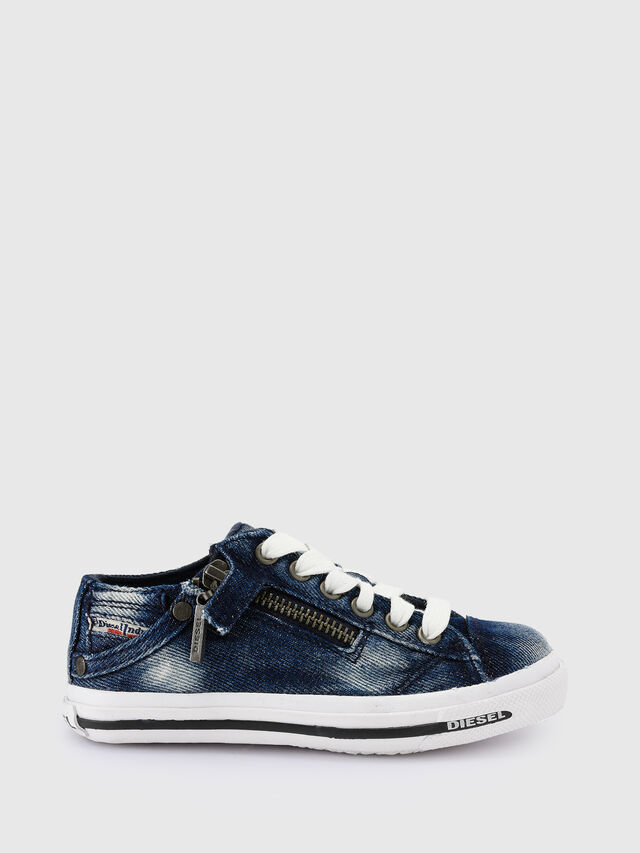 Diesel - SN LOW 25 DENIM EXPO, Blue Jeans - Calzado - Image 1