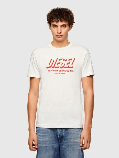 Diesel - T-DIEGOS-A5, Blanco - Camisetas - Image 1