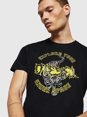 T-DIEGO-B15, Negro - Camisetas