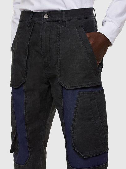 Diesel - D-Eluxerr JoggJeans® 0DDAV, Negro/Gris oscuro - Vaqueros - Image 3