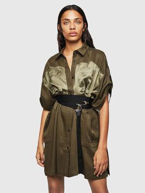 D-TIEP, Verde Militar - Vestidos
