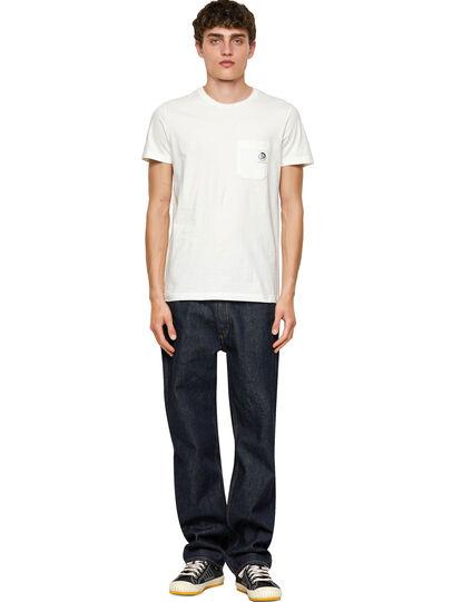 Diesel - T-WORKY-MOHI, Blanco - Camisetas - Image 4