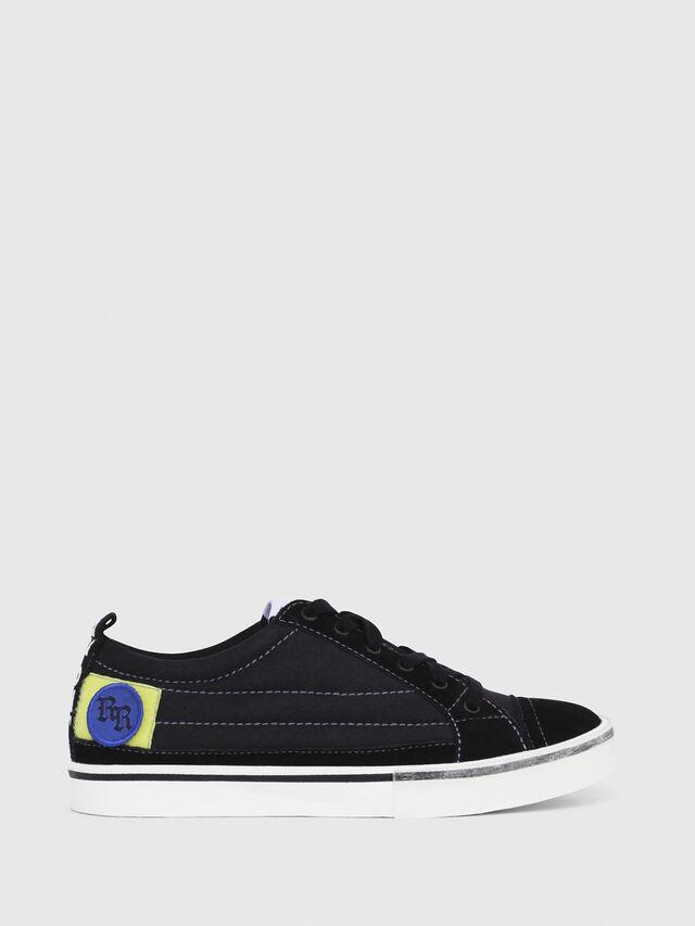 Diesel - D-VELOWS LOW PATCH W, Negro - Sneakers - Image 1