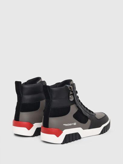 Diesel - S-RUA MID SK, Gris - Sneakers - Image 3