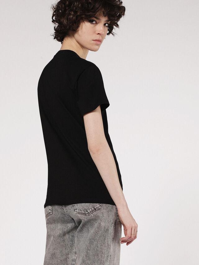 Diesel - T-EXPLO, Negro - Camisetas - Image 2