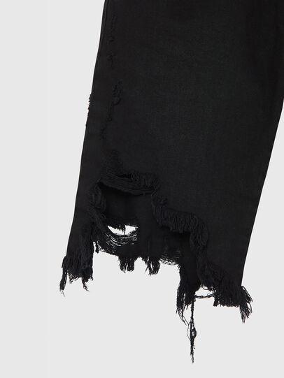 Diesel - D-KRASY, Negro - Shorts - Image 5