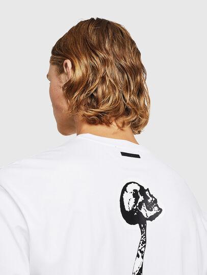Diesel - TEORIALE-X1, Blanco - Camisetas - Image 5
