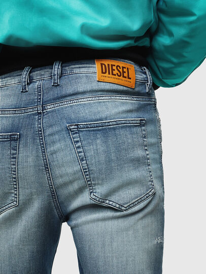 Diesel - D-Vider JoggJeans 069JZ, Azul Claro - Vaqueros - Image 5