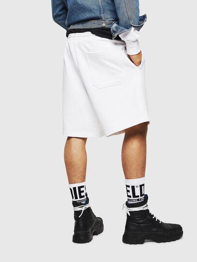 Diesel - P-ALF-SHORT, Blanco - Shorts - Image 2