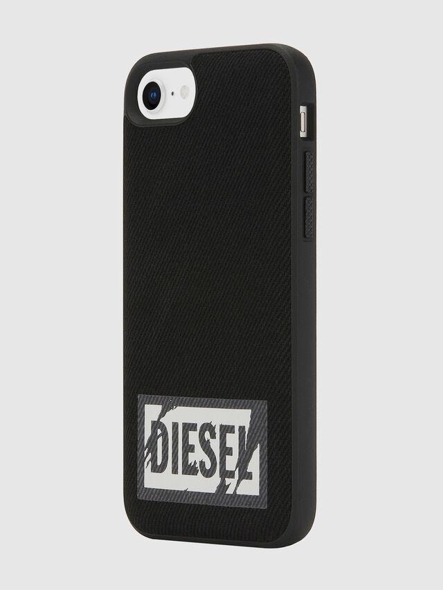 Diesel - BLACK DENIM IPHONE 8/7/6S/6 CASE, Negro - Fundas - Image 6