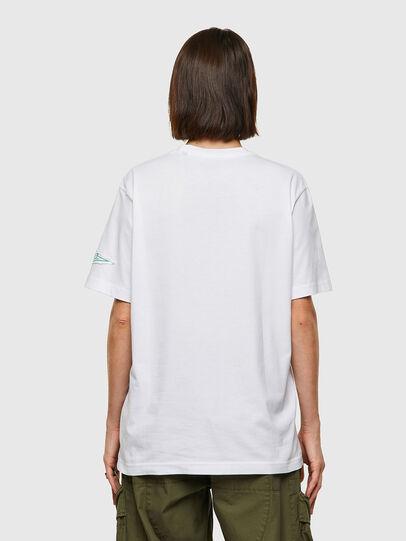 Diesel - T-JUST-B61, Blanco - Camisetas - Image 4