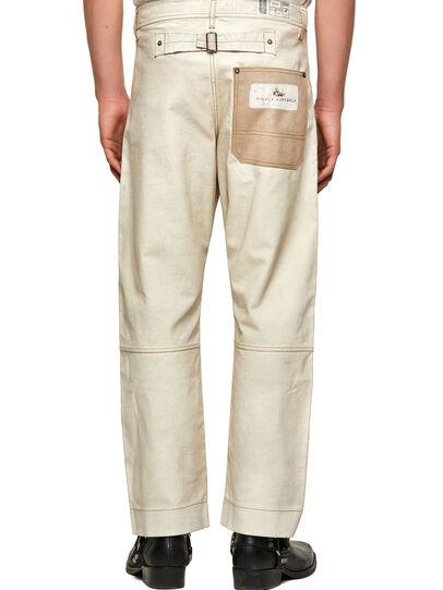 Diesel - DxD-5, Blanco - Pantalones - Image 2