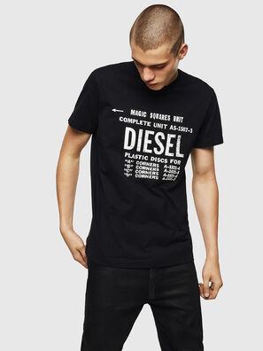 T-DIEGO-B6, Negro - Camisetas