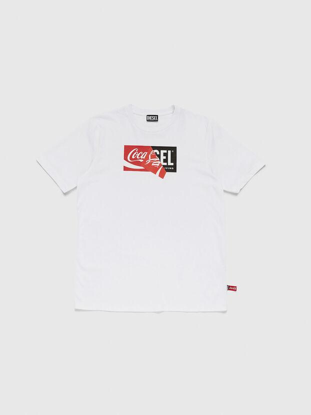 CC-T-JUST-COLA, Blanco - Camisetas