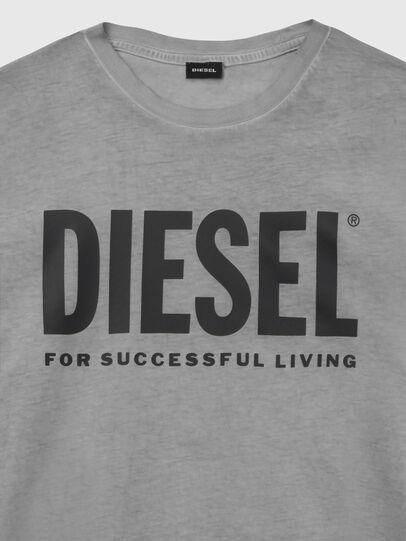 Diesel - T-SILY-WX, Gris oscuro - Camisetas - Image 3