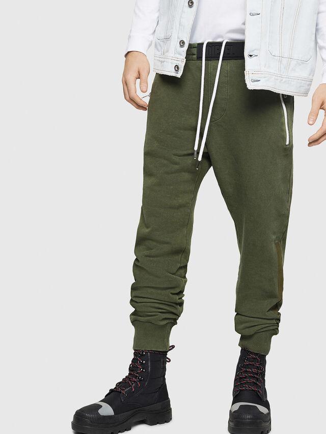 Diesel - P-TA, Verde Oscuro - Pantalones - Image 1