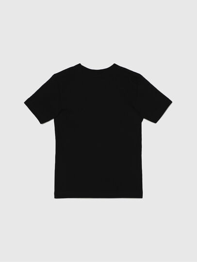 Diesel - TJUSTLOGOB-R, Negro - Camisetas y Tops - Image 2