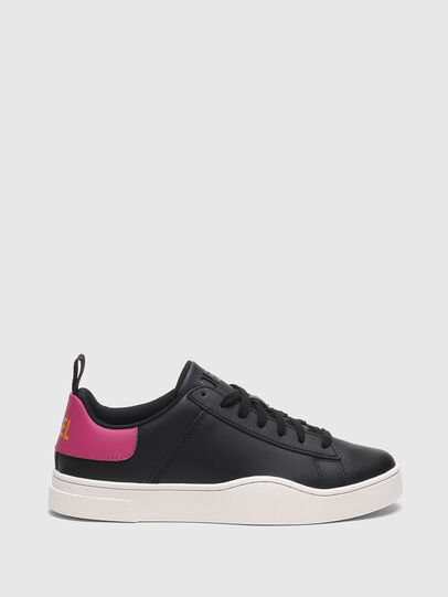Diesel - S-CLEVER LOW LACE W, Negro/Rosa - Sneakers - Image 1