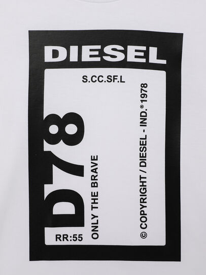 Diesel - TFULL78B-R, Blanco - Camisetas y Tops - Image 3
