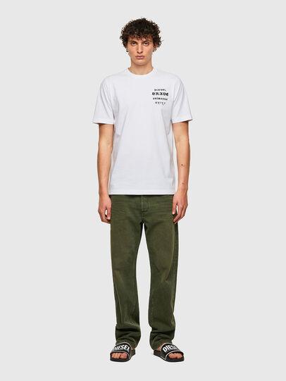 Diesel - T-JUST-B59, Blanco - Camisetas - Image 4