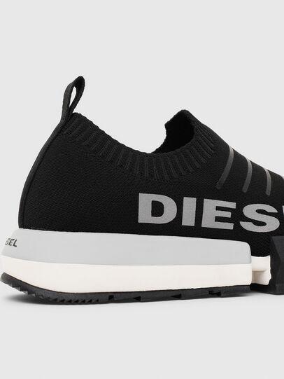 Diesel - H-PADOLA LOW SOCK, Negro - Sneakers - Image 7