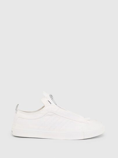 Diesel - S-ASTICO LOW ZIP SP, Blanco - Sneakers - Image 1