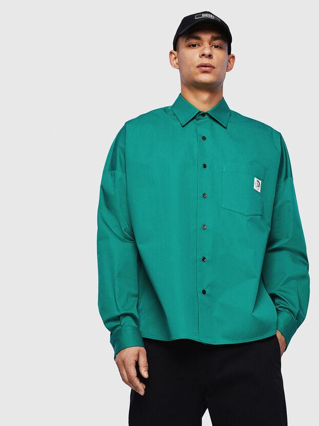 S-LOOMY, Verde - Camisas
