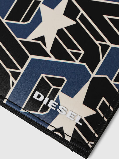 Diesel - HIRESH S, Negro/Azul - Monederos Pequeños - Image 4