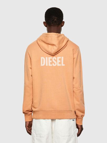 Diesel - S-GIRK-HOOD-B3, Naranja - Sudaderas - Image 2