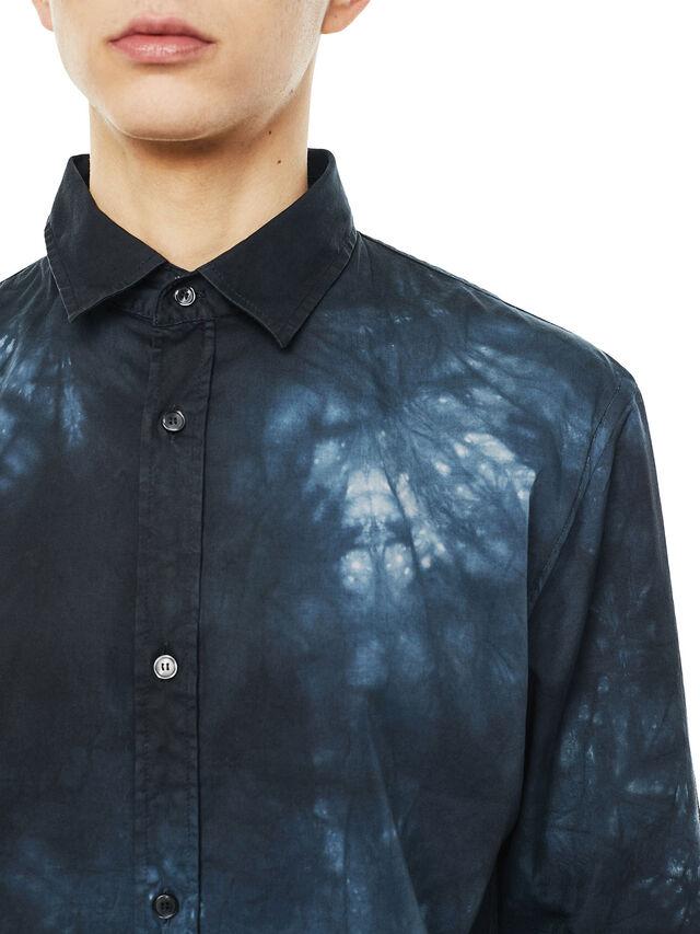 Diesel - SAMOUT, Negro/Azul - Camisas - Image 3