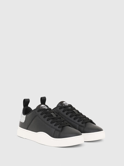 Diesel - S-CLEVER LOW LACE W, Negro/Plata - Sneakers - Image 2