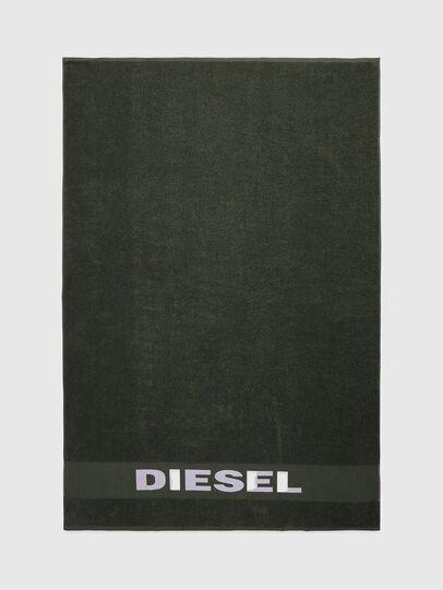 Diesel - TELO SPORT LOGO   10, Verde - Bath - Image 2