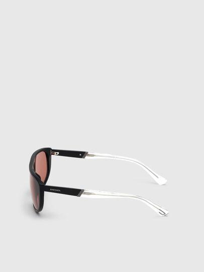 Diesel - DL0300, Negro/Blanco - Gafas de sol - Image 3